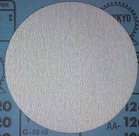 Way to select abrasive for wooden surface